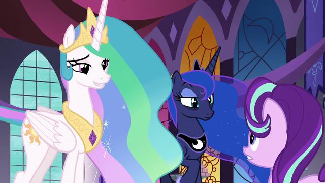 File:Celestia and Luna listen to Starlight Glimmer S7E10.png