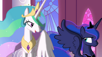 Luna leaves Celestia S3E01