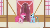 Pinkie Pie Rainbow wanna hang out S1E05