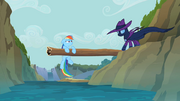 Rainbow Dash saved by Mare Do Well S2E8.png