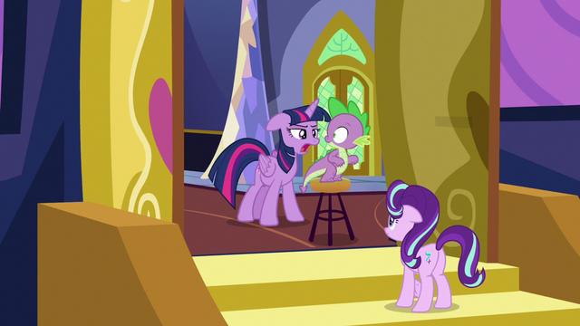 "File:Twilight Changeling ""a certain dragon didn't get his nap"" S6E25.png"