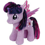 Twilight Sparkle Tinsel Ty Beanie Baby