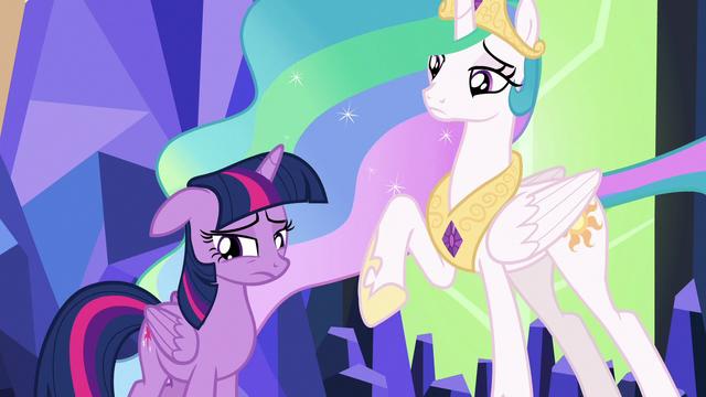 File:Twilight and Celestia looking sad S7E1.png