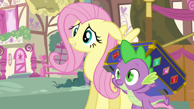 File:Fluttershy agrees to help out S03E13.png