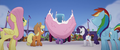 Giant cake falls on top of Twilight Sparkle MLPTM.png