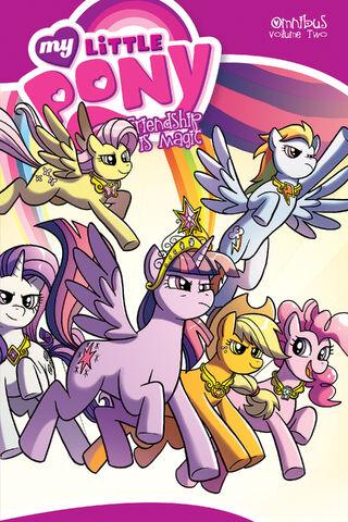 File:My Little Pony Omnibus Volume 2.jpg