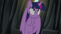 Twilight hears Tirek S4E26