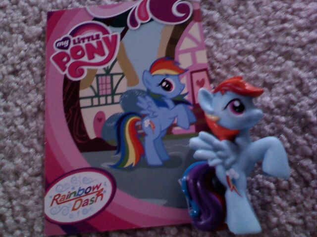 """File:Rainbow Dash Toys """"R"""" Us exclusive Pony Collection Set.jpg"""