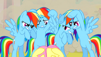 Real Rainbow Dash ready to kick S2E26