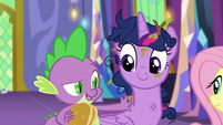 """Spike """"been meaning to get my claws done"""" S5E3"""