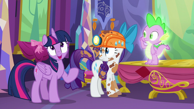 """File:Twilight """"We are sadly lacking any information on dragon culture and customs"""" S6E5.png"""