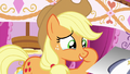 Applejack crying laughter-induced tears S7E9.png