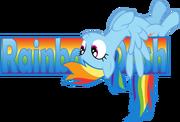 FANMADE Rainbow dash banner by zacatron94