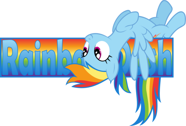 File:FANMADE Rainbow dash banner by zacatron94.png
