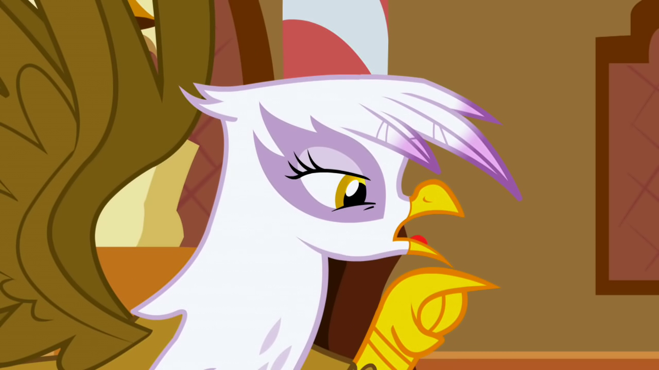 Gilda isn't pleased S1E5