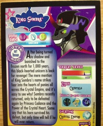 File:King Sombra trading card series 2 back.jpg