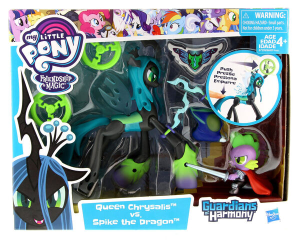 File:Guardians of Harmony Queen Chrysalis vs. Spike the Dragon packaging.jpg