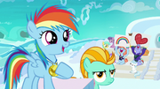 Filly Rainbow Dash proud of herself S7E7.png