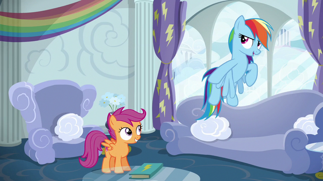 "File:Rainbow Dash ""obviously!"" S6E14.png"