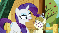 "Rarity ""I didn't even see you there!"" S7E6"
