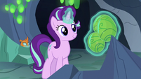 Starlight Glimmer levitating changeling eggs S7E1