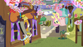 Discord and Fluttershy's upside-down tea party S7E12.png