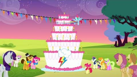 Italian My Little Pony Make A Wish HD