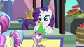 Rarity and Spike looking at each other S3E2.png