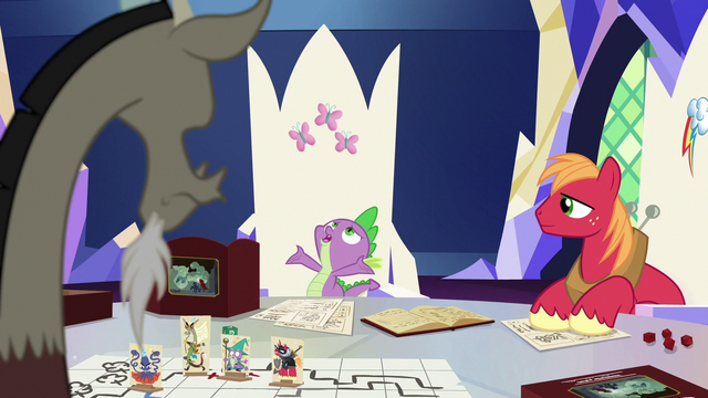 "File:Spike ""the whole game coming to life"" S6E17.png"