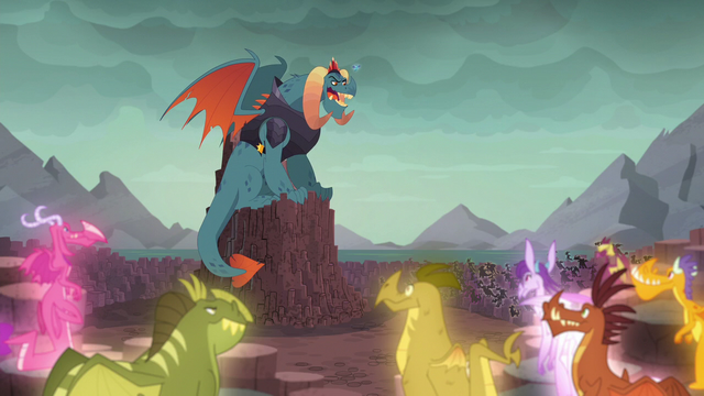 "File:Torch ""and my reign has been extraordinary!"" S6E5.png"