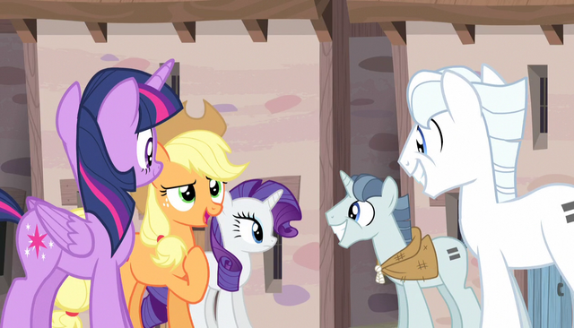 File:Applejack introduces herself to Double Diamond S5E1.png