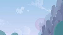 Cloud in the shape of Shining Armor wanders off S02E25