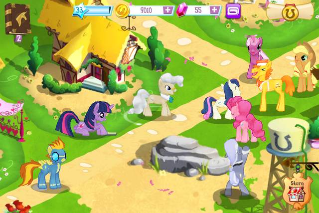 File:Gameloft ponies.png