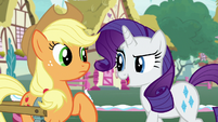 "Rarity ""which tells me"" S7E9"