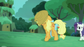 """Applejack"" ""It's taken quite a while to find you"" S5E26.png"