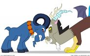 FANMADE Discord and Grogar face off