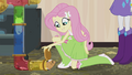 Fluttershy next to a hamster EG2.png