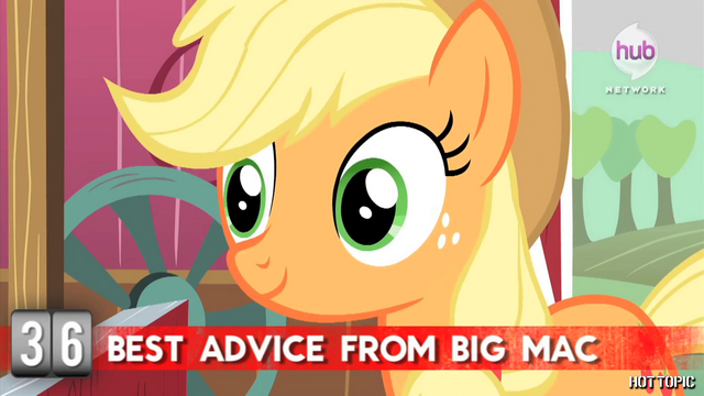 "File:Hot Minute with Applejack ""your eye, that is"".png"