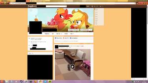 My Facebook look