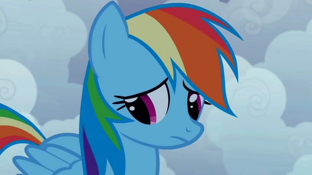 File:Rainbow Dash doubtful S1E02.png