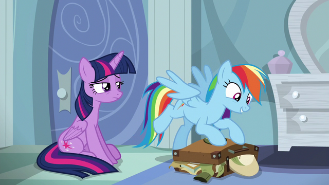 File:Rainbow excitedly packing her bags S6E13.png