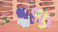 Rarity thinks Fluttershy is unscathed S1E09