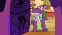 Spike at the door S2E04
