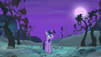 Twilight Sparkle walking alone S4E07
