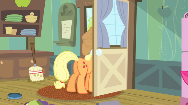 "File:Applejack ""What was that?"" S4E17.png"