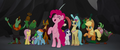 Ponies and pirates cheering MLPTM.png