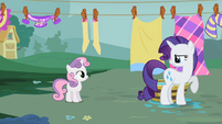 "Rarity ""Please"" S2E05"