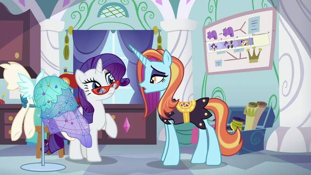 "File:Sassy Saddles ""fine, go see her reaction"" S5E14.png"