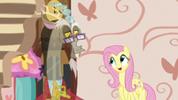 """Fluttershy """"he'd have a chaise lounge"""" S7E12"""