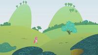 Pinkie Pie follows S1E5
